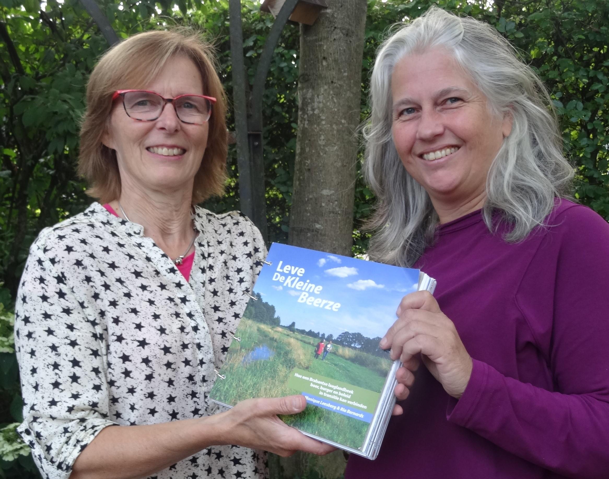 Dal van de Kleine Beerze centraal in boek en landkunst